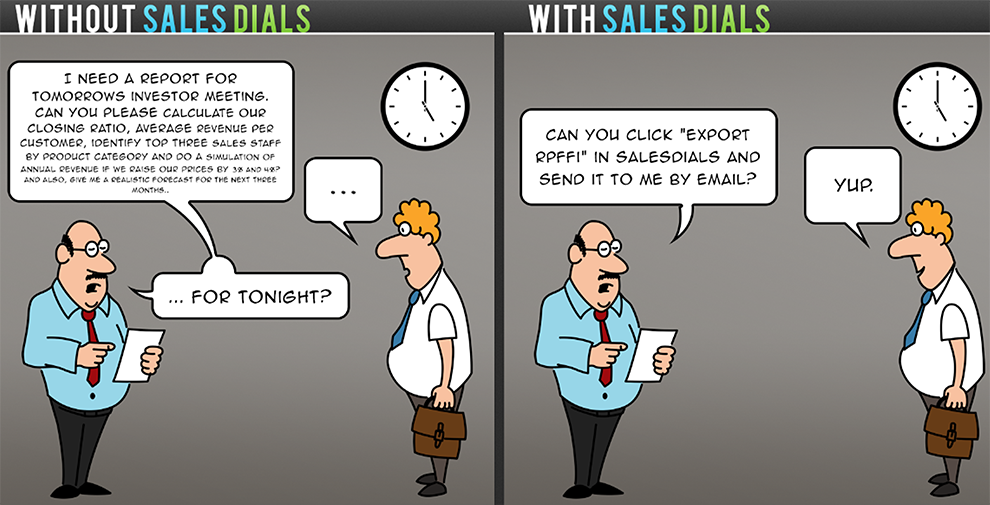 How life is easier with SalesDials for Highrise